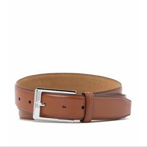 Cole Haan Men's Leather Belt in Cognac Brand New